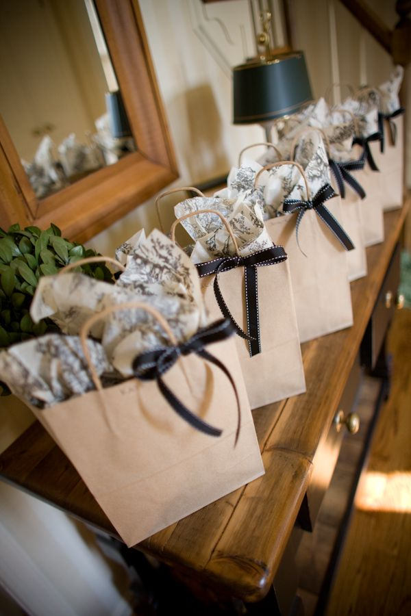 cute bridesmaids gift packaging