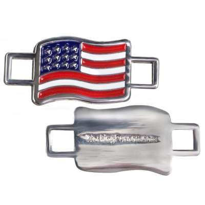 We know you've proudly served our country, know someone who has, or just love the good old U.S. of A. That's why Working Person's Store encourages you to show your pride all year long with the Working Person's Store American Flag 2-Pack Lace Keeper.