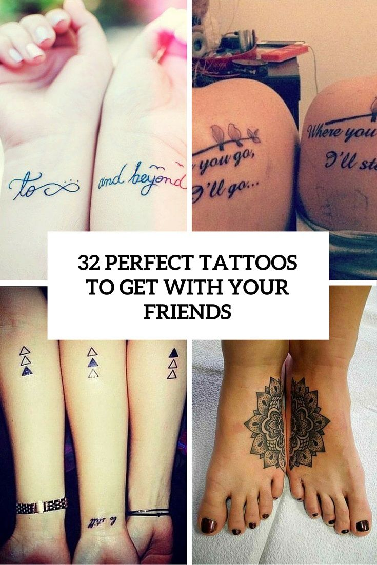 32 perfect best friend tattoos to get – styleoholic
