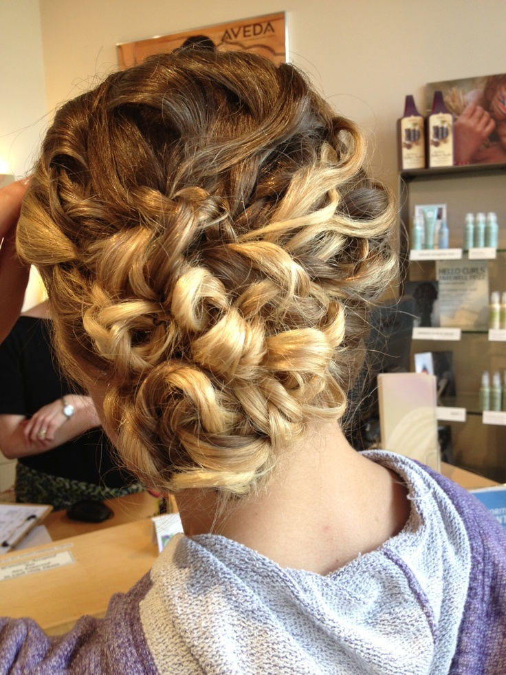 Formal Hairstyles Biracial Prom Hair Grade Dance