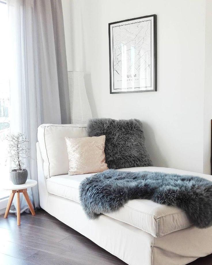 Die besten 25+ Fellteppich Ideen auf Pinterest Fußbodenlaternen - gemutlichkeit zu hause strick woll fellmobel decken