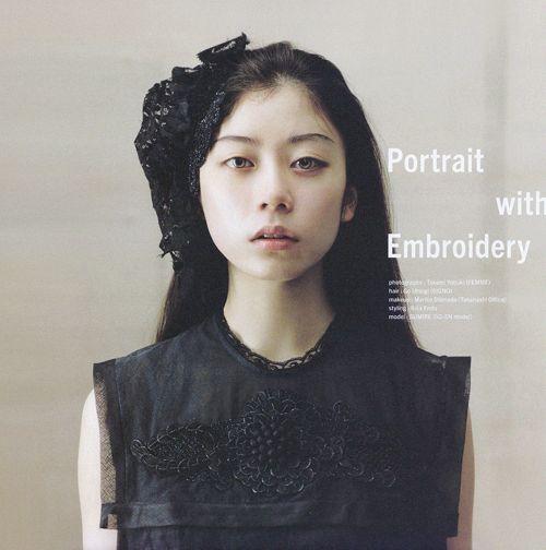 sola-nin:  SUMIRE for 装苑, 06/2014