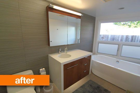 28 best mid century modern bathrooms images on pinterest for Modern day bathrooms