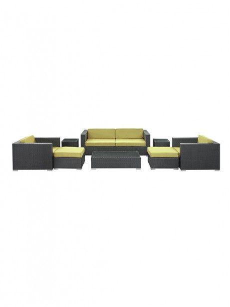 Best Barcelona 8 Piece Outdoor Sofa Set Outdoor Sofa Sets 640 x 480
