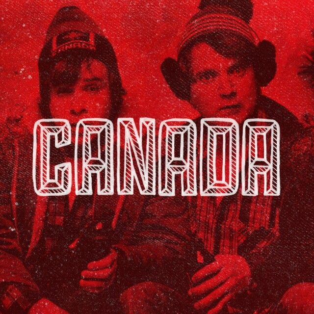Hand lettered Canada design with Bob and Doug. #BobAndDougMcKenzie #GreatWhiteNorth #SCTV #lettering #handlettering #handdrawn #handdrawntype #type #typography #typographyinspired #goodtype #thedailytype #artoftype #art #design #graphicdesign #texture #customlettering