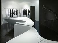 The Neil Barrett shop in shop - Seul, Corea del Sud - 2013 - Zaha Hadid Architects