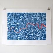 London Map Ursula Hitz Mesmerising Where S Wally Meets Cartography