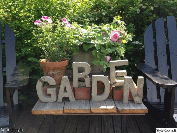puutarha,betoni,sommittelu,koriste-esineet,koristeet