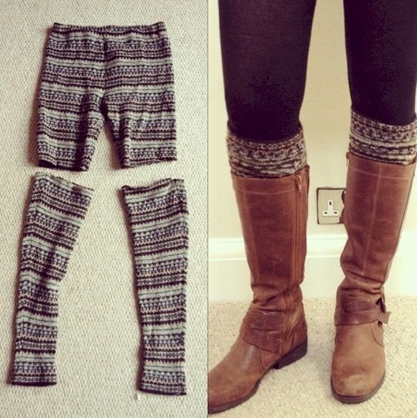 Oh the things you can make with all the old legging you have.