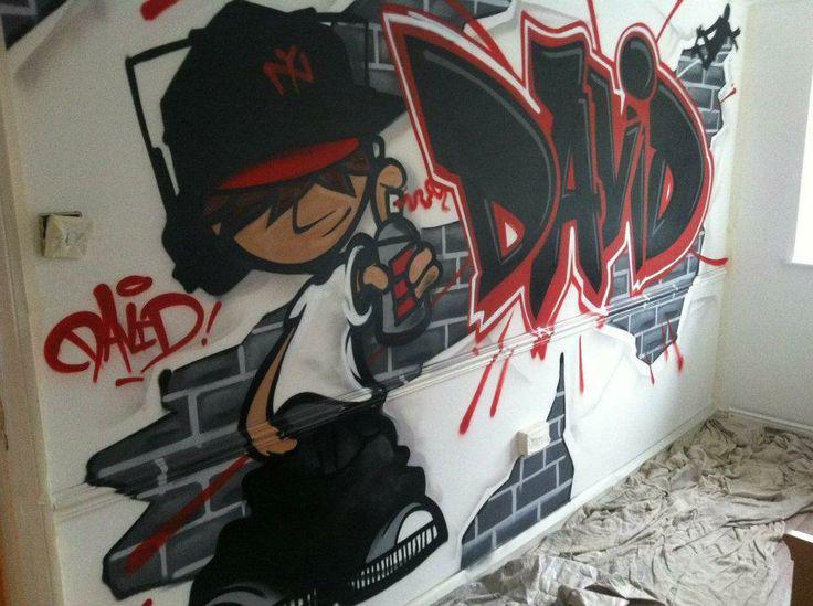Best Boys Street Graffiti Bedroom Images On Pinterest