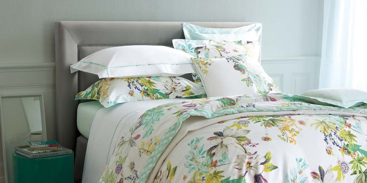 Ailleurs Bed Linen Collection Yves Delorme