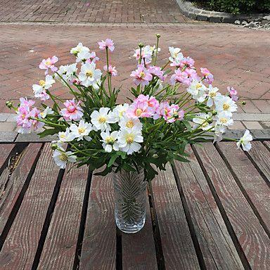 1 1 Ág Poliészter / Műanyag Százszorszépek / Others Asztali virág Művirágok 19.29Inch/49cm 5188416 2016 – £5.59