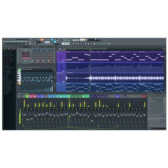 Image Line FL Studio 12 Sig Bundle Digital Audio Workstation plus Plug-ins [Download]
