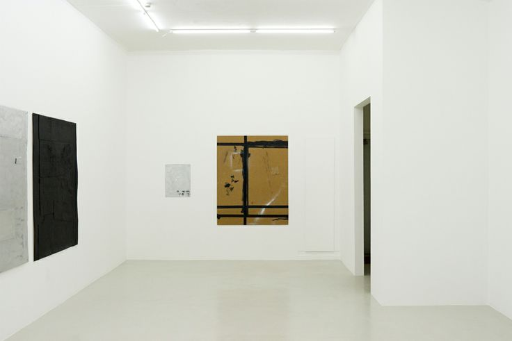 From Michael Bevilacqua's exhibition 'Blankism: The artist is not present' at Peter Amby Gallery
