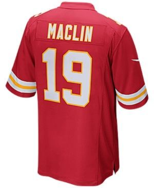 Nike Men's Jeremy Maclin Kansas City Chiefs Game Jersey - Red XXL