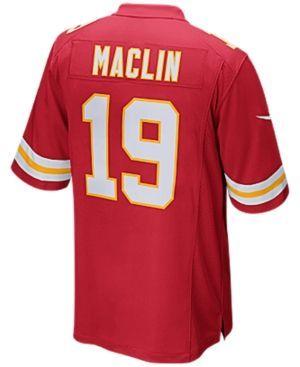 Nike Men's Jeremy Maclin Kansas City Chiefs Game Jersey - Red XXL