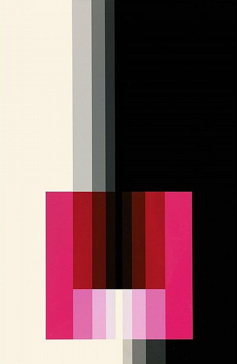 Chromorphose 3.10 by Karl Gerstner, 1974. ©Karl Gerstner