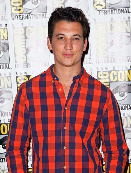 "Miles Teller Actor Miles Teller attends ""Divergent"" Comic-Con Press Line at San Diego Convention Center on July 18, 2013 in San Diego, Calif..."