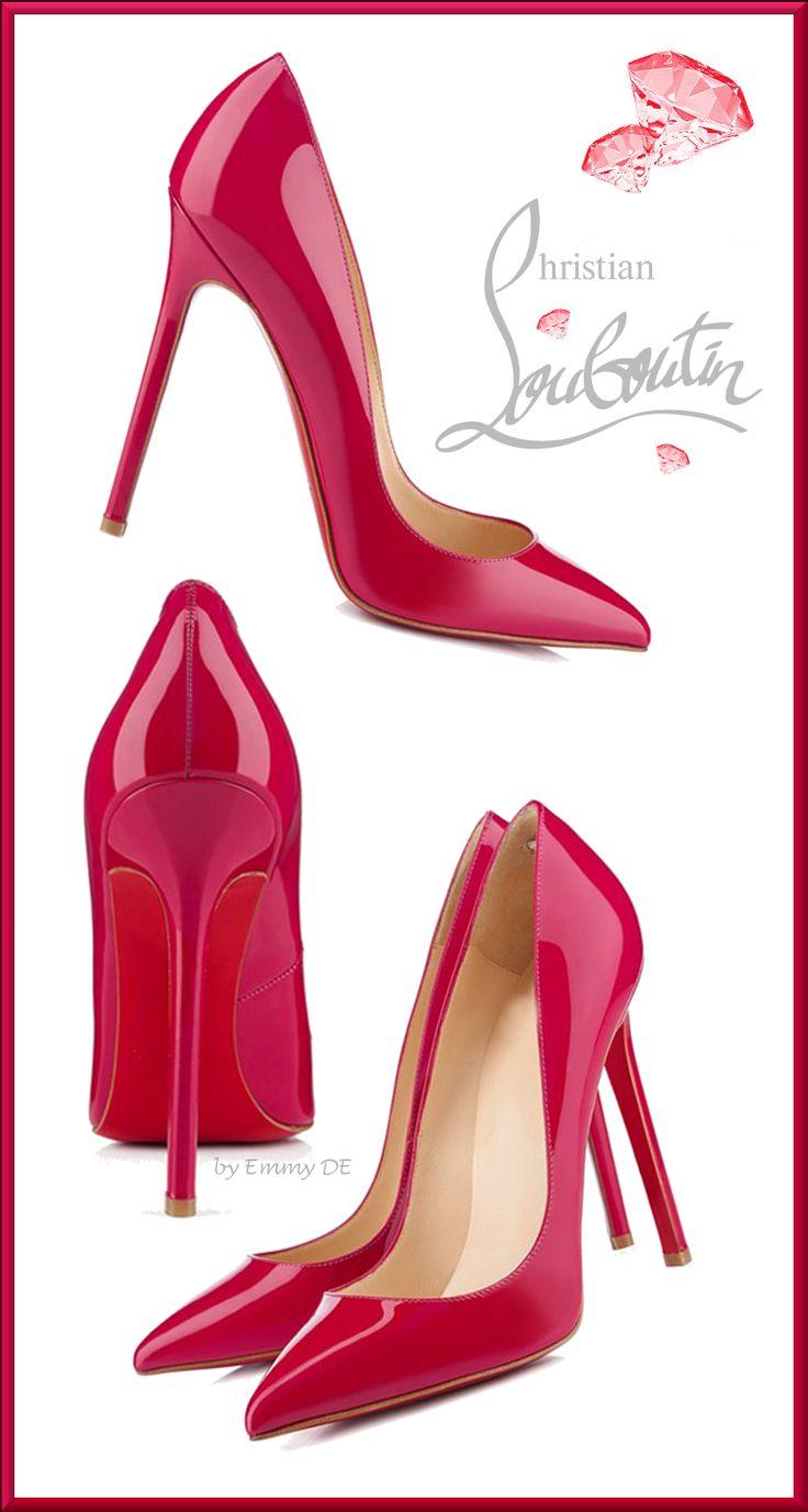 Emmy DE * Christian Louboutin Hot Pink Colour www.ScarlettAvery.com
