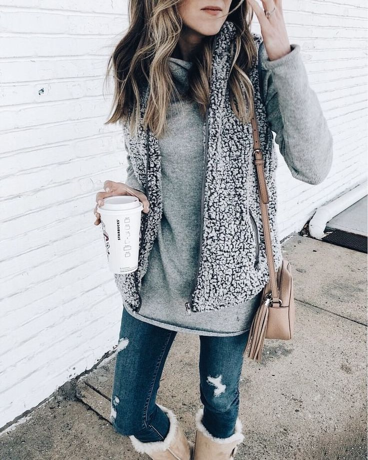 If I swapped out the jeans for leggings, I'd be the comfiest girl on the planet!