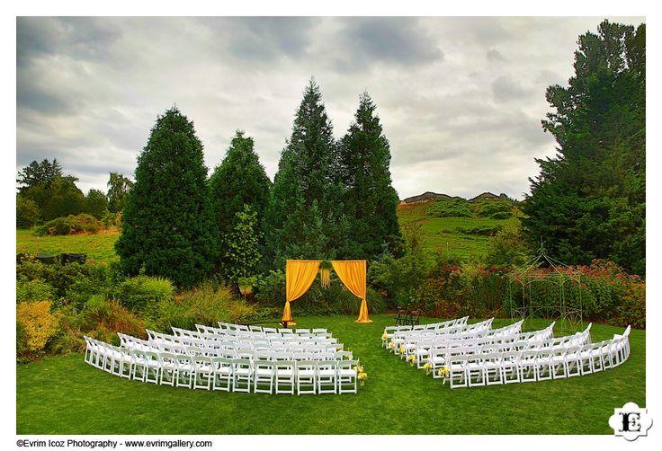 McMenamins Blackberry Hall Edgefield Lawn Wedding