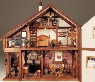 De rosa a negro : La casita de muñecas