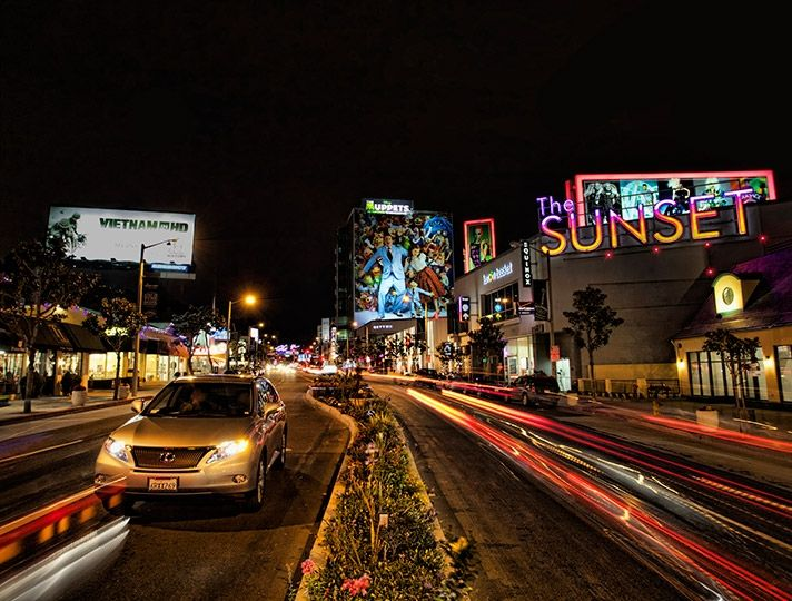 The Sunset Strip | Discover Los Angeles - The Sunset Strip in West Hollywood