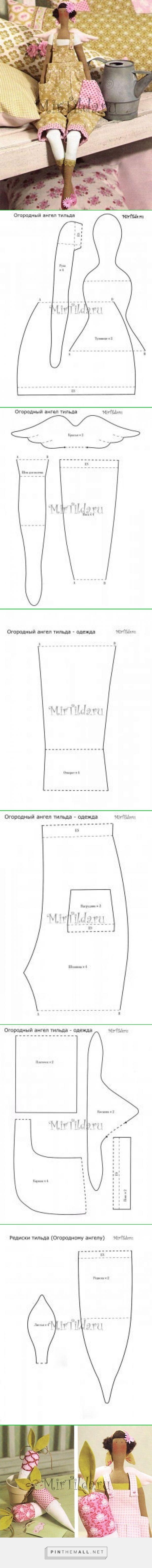 Тильда Огородница / Мир игрушки / Тильда. Мастер классы, выкройки. - created via http://pinthemall.net