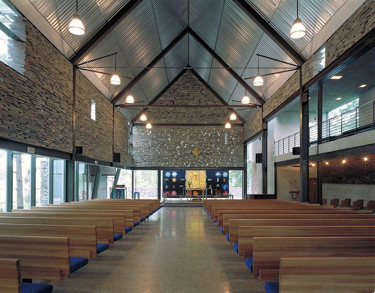 Splendid Mortensrud Church in Oslo, Norway by Jensen & Skodvin Arkitektkontor