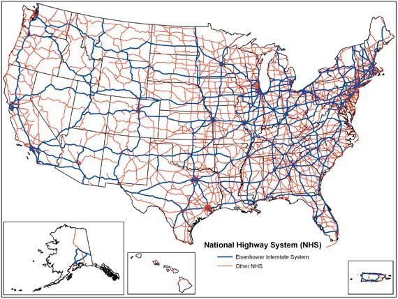 Best Interstate Highway Map Ideas Only On Pinterest Road - Places to visit map us