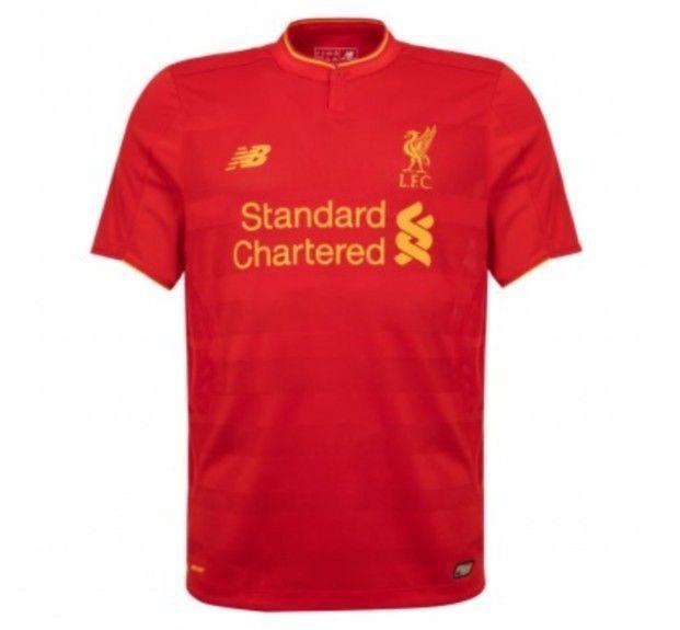 New Balance Liverpool Home Football Top Boys Shirt Age 6-7 ,8-9, 10-11, 12-13 in Sporting Goods, Football Shirts, English Clubs | eBay!