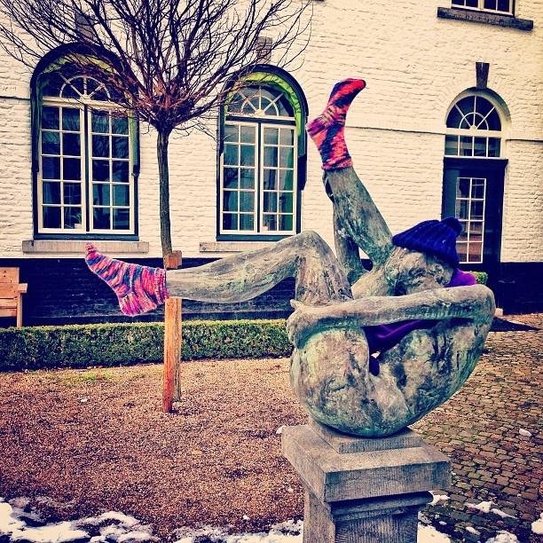 #Mtricht #univercity #maastricht #art #UM #ucm A victim of #humor - @abhzm- #webstagram