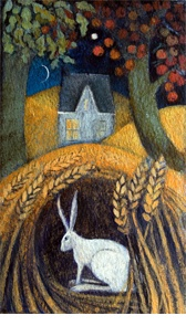 Catherine Hyde Artist - MOUNTED SMALL £60 Prints the orient night