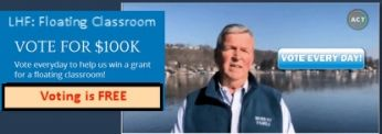 Help the Lake Hopatcong Foundation – Win a $100,000 Grant with just a few minutes of your time