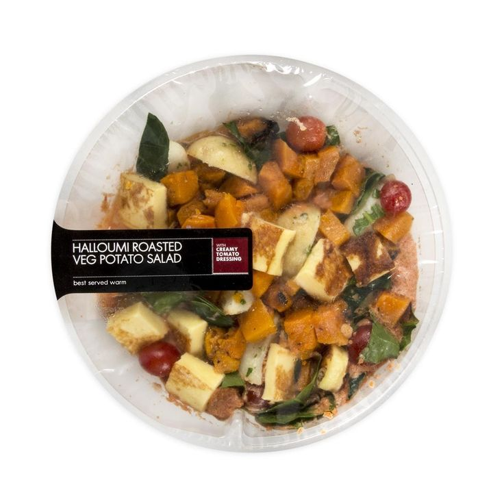 Haloumi, Roasted Veg Potato Salad 420g