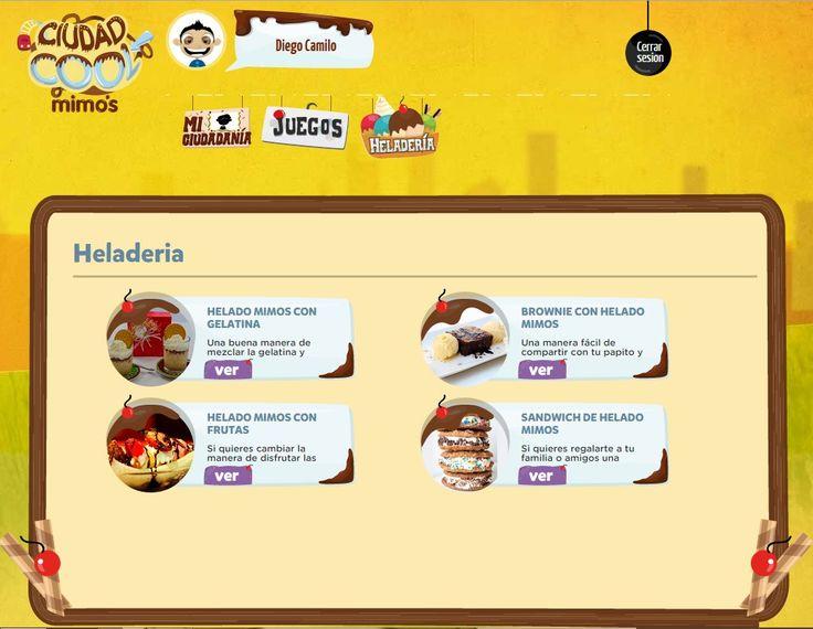 Copys para la Heladería Mimos. http://ciudadcool.co/microsite/blog