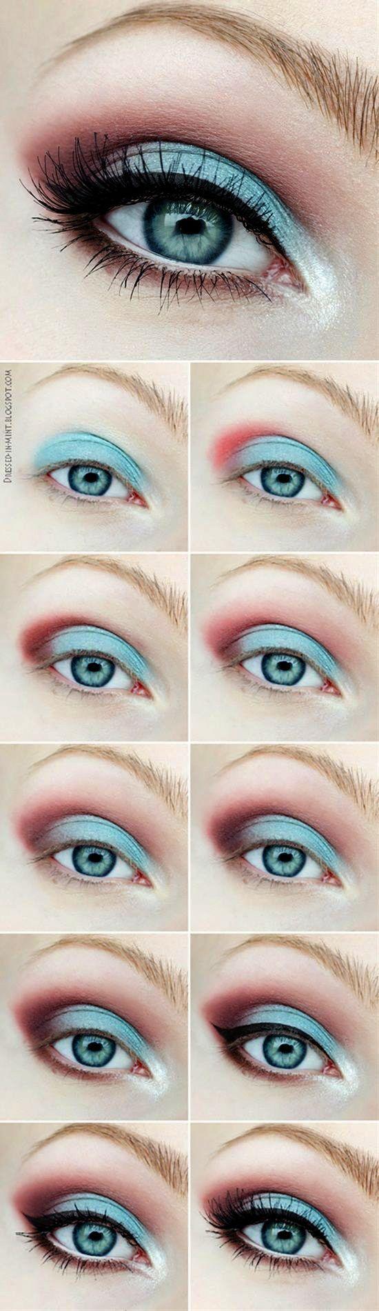 Makeup Artist Galway but Natural Smokey Eye Makeup On Brown Skin by Makeup Brush…