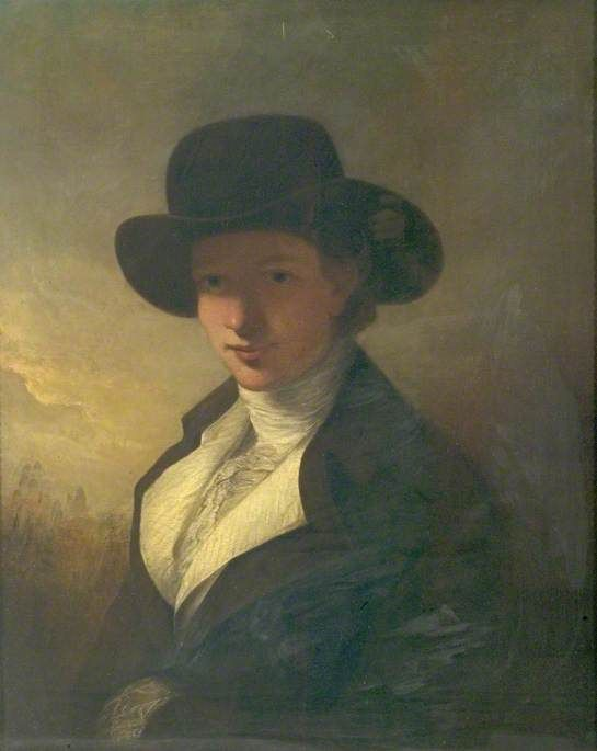 Hannah Wright (1775–1867) (niece of the artist) by Joseph Wright of Derby (1734–1797) (after) Derby Museum and Art Gallery