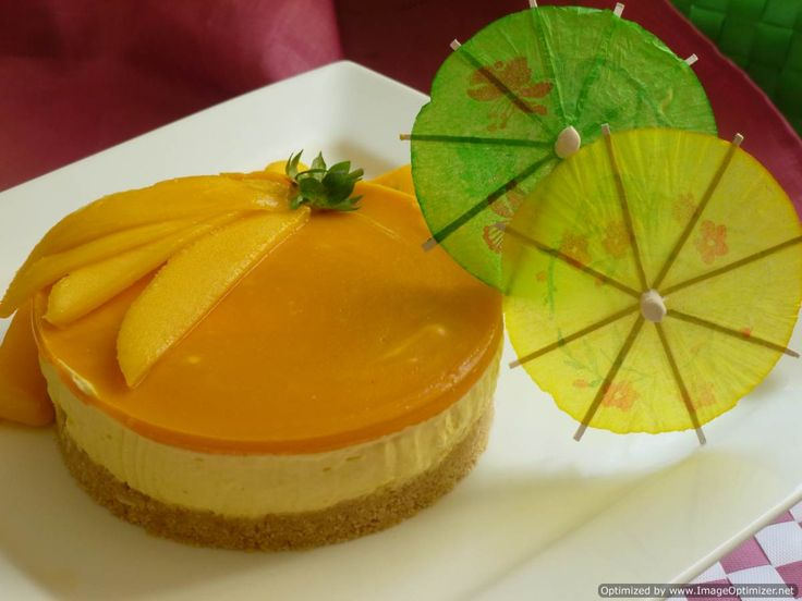 Mango cheese cake (no baking)