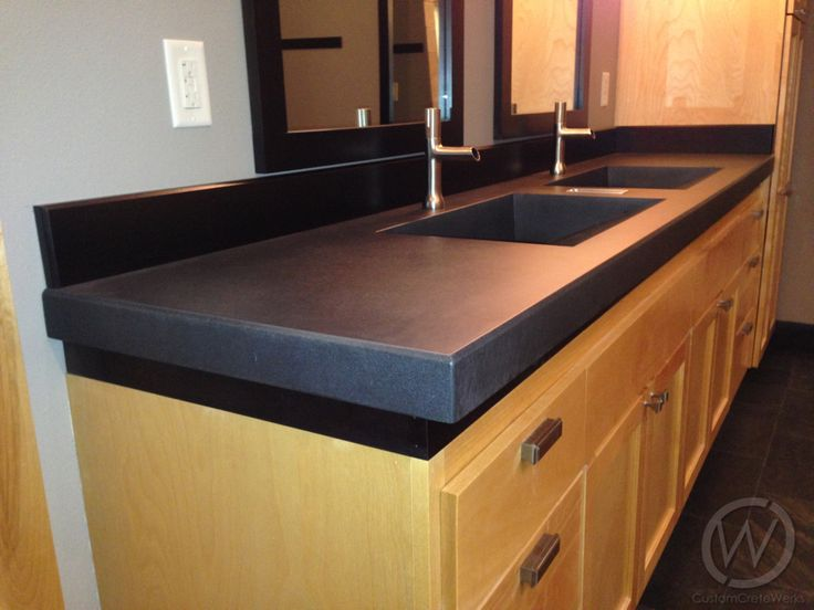 38 Best Images About Bathroom Concrete Sinks Amp Countertops