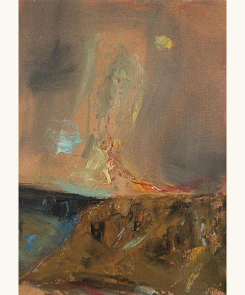lilithsplace: 'Red Cloud' - Joan Eardley (1921–1963)