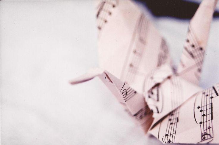 1,000 paper cranes by ~MonopolyMismatch on deviantART