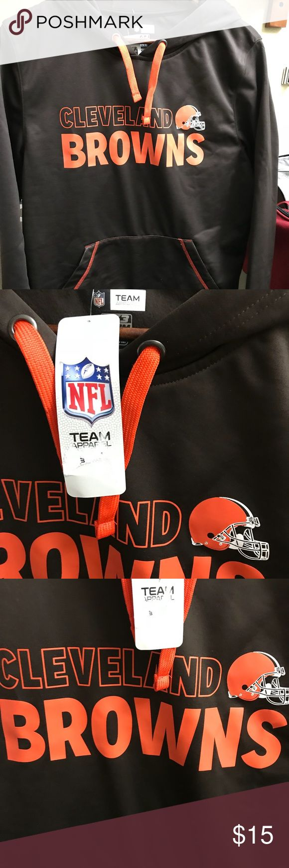 NFL Cleveland Browns Men's Sweatshirt NFL Cleveland Browns Men's Sweatshirt. NFL liscensed TX3 Warm Technology. 100% Polyester. New condition with tags. NFL Shirts Sweatshirts & Hoodies