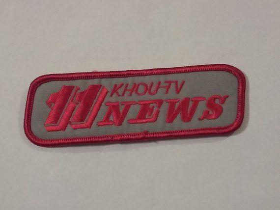 Channel 11 News Team Khou Tv Cbs Abc Nbc Silver Red Old School