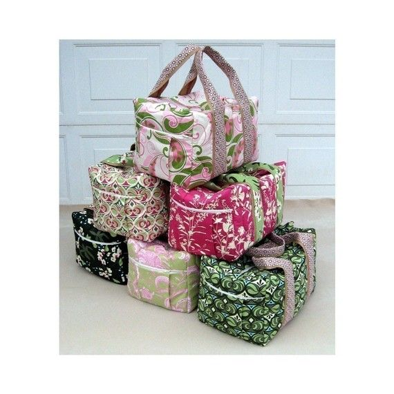 Fun Duffel Bags. Pattern