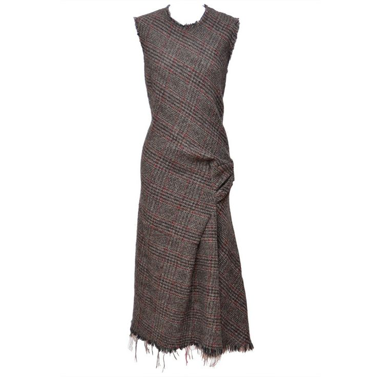Dress for Women, Evening Cocktail Party On Sale, Grey, Wool, 2017, 10 Comme Des Garçons