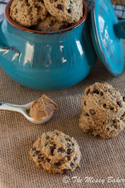 Healthy Peanut Butter Banana Cookies | @Jennie C. C. C. {The Messy Baker} The Messy Baker