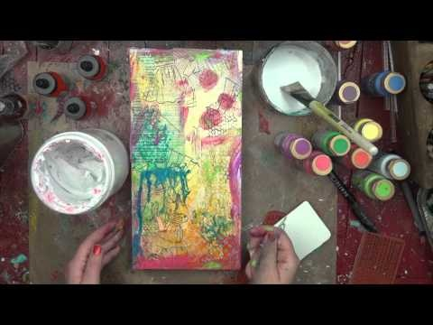 Behind the Art: Christy Tomlinson She Art product with Unity stamp Co and Pink Paislee