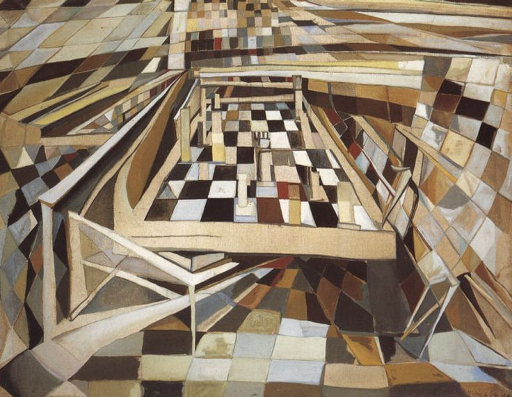 In the early phase of her career, Vieira da Silva executed surrealist objective paintings. Description from sites.google.com. I searched for this on bing.com/images