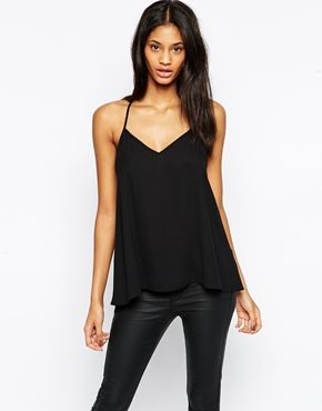 Enlarge ASOS Backless Cami Top with Plunge Neck